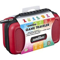 RDS Industries, Nintendo Amiibo Game Traveler Carrying Case - Red