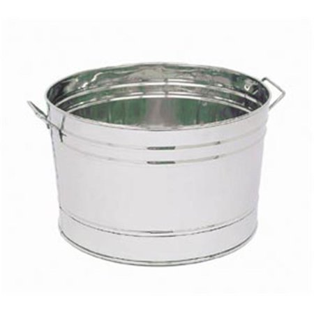 Image of Achla C-70 Stainless Steel Tub Round Outdoor Cooler