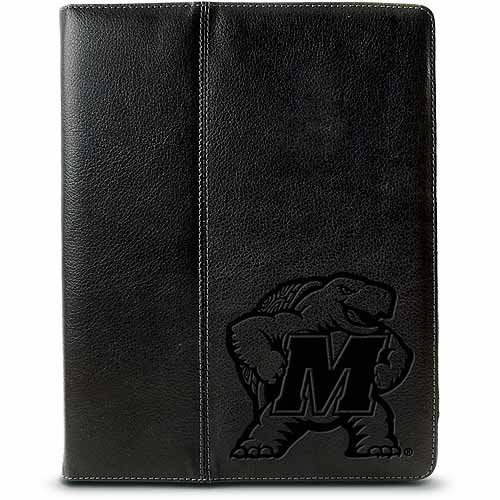 Centon iPad Leather Folio Case University of Maryland