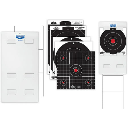 - Sharpshooter™ Tab-Lock™ Dirty Bird® Assorted Target Kit (2 - 12