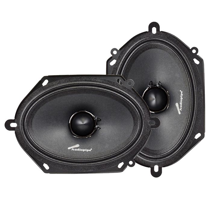 "Audiopipe 6X8"" Mid Range Loud Speaker (Sold in pairs)"