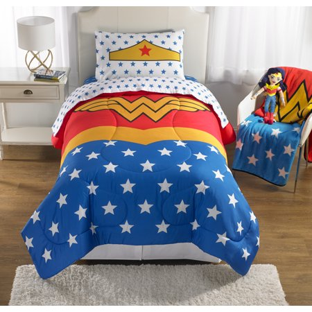 Wonder Woman Twin Bedding