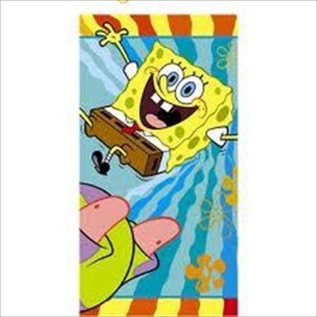 SpongeBob Buddies Table Cover, 1 per order By None Ship from - Spongebob Tablecloth