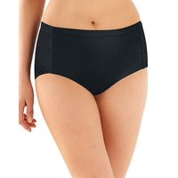 Women's Active Cool Comfort Brief, Black - 2XL