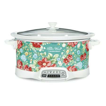 Pioneer Woman 7 Quart Programmable Slow Cooker Only $34.99