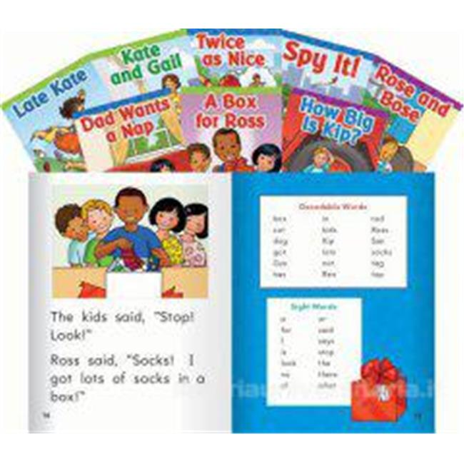 Shell Education 22410 Targeted Phonics Set 2 8-Book Set