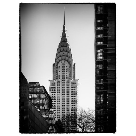 Top of the Chrysler Building - Manhattan - New York City - United States Print Wall Art By Philippe