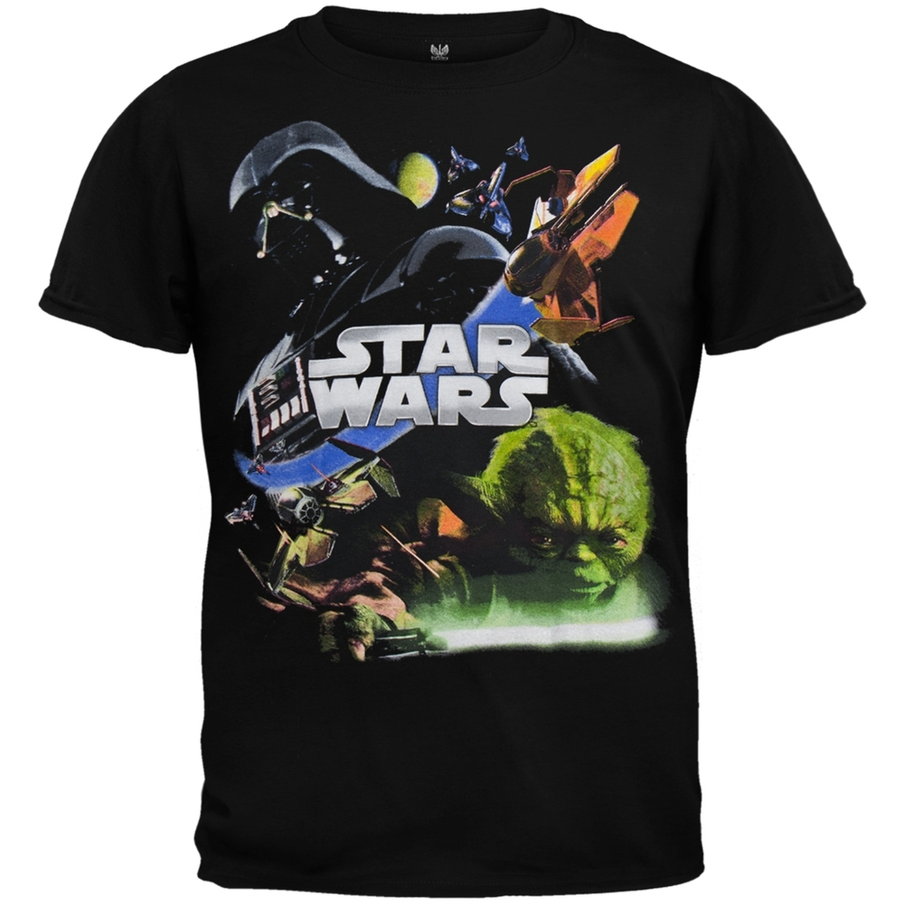 Star Wars - Attack Juvy Black T-Shirt