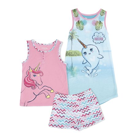 GIRLS 3PC PJ SET (Girls Sleepwear)