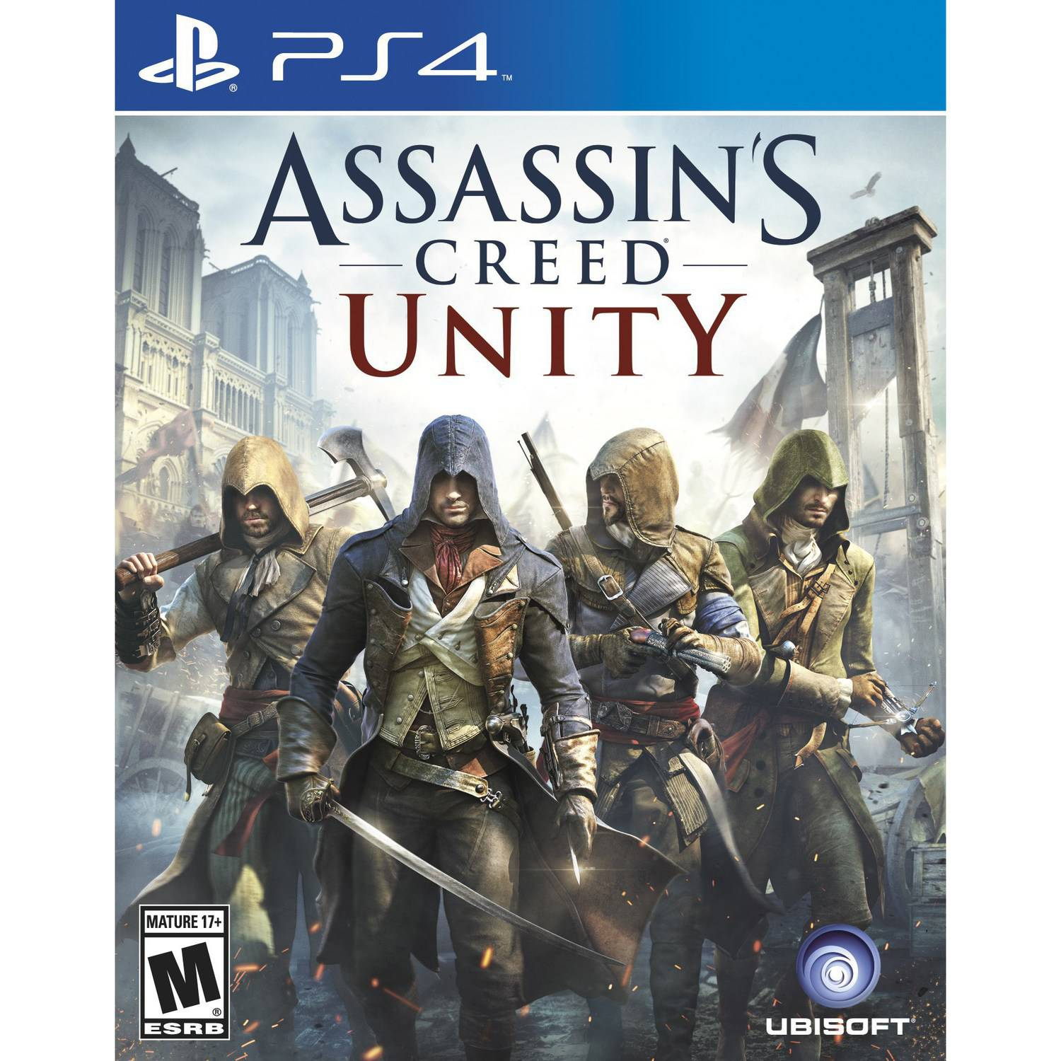 Assassin's Creed: Unity, Ubisoft, PlayStation 4, 887256301262