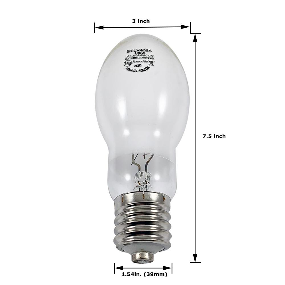 Sylvania H38JA-DX 100 Watt MERCURY LAMP