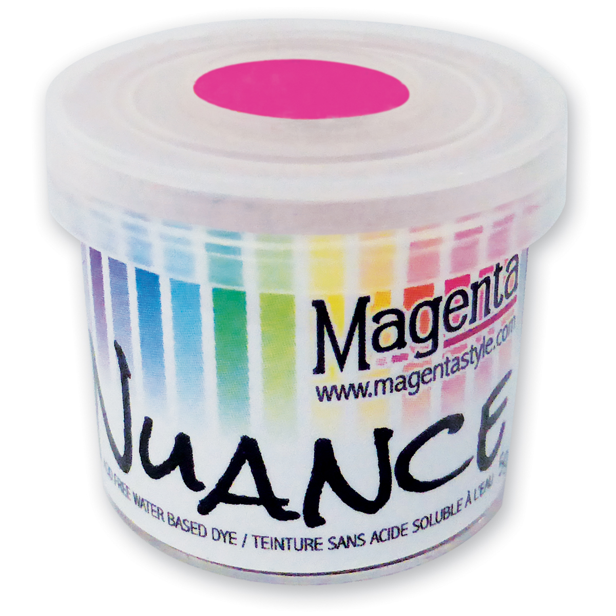 Magenta Nuance Powdered Dye-Hot Pink