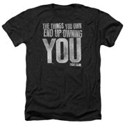 Fight Club Owning You Mens Heather Shirt