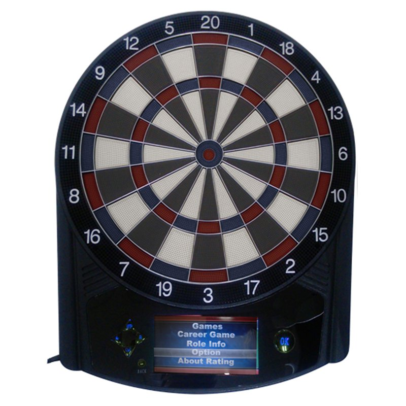 Triumph Sports Evolution Electronic Dart Board and Darts Set