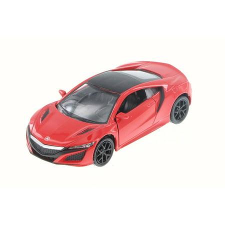 2017 Acura NSX, Red - RMZ City 555031AC -  Diecast Model Toy Car ()