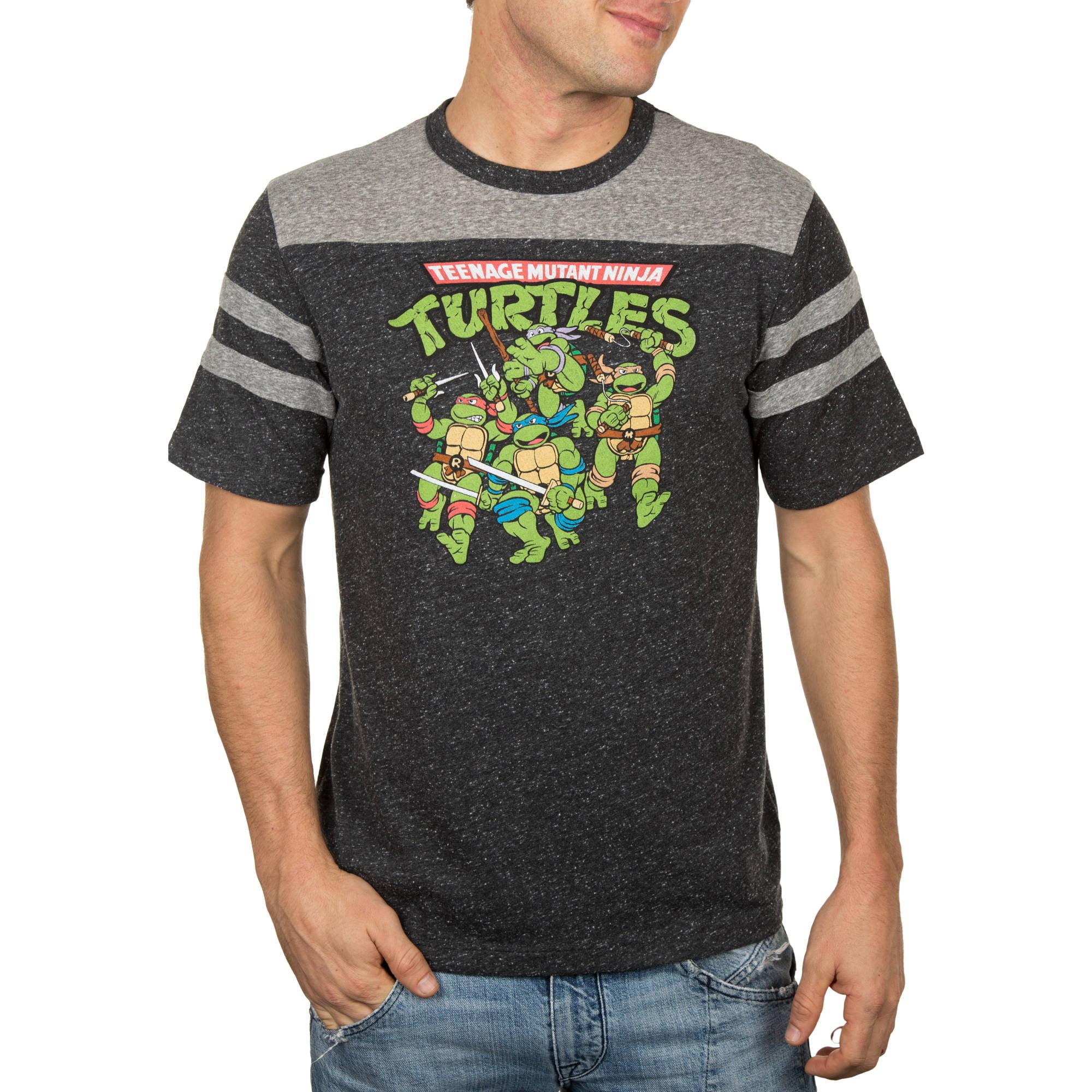 Teenage Mutant Ninja Turtle TMNT Group Action Men's Graphic Tee