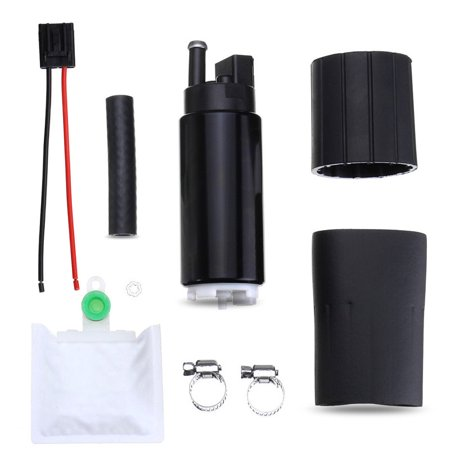 Grtsunsea In-Tank Fuel Pump Electric 255lph High Performance Plus Install Kit (Installing Electric Fuel Pump In Place Of Mechanical)
