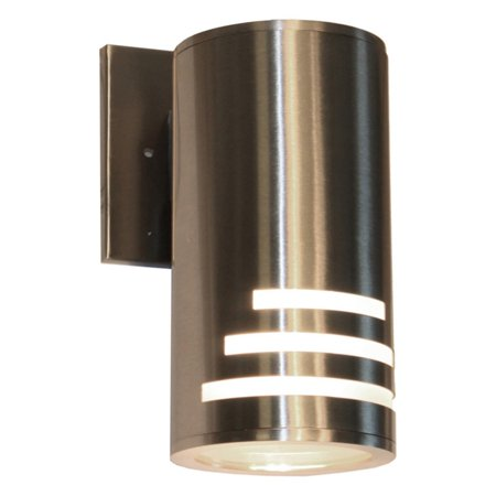 Artcraft Nuevo AC8004SS Outdoor Wall Light Update your setting with the Artcraft Nuevo AC8004SS Outdoor Wall Light. Crafted from high-quality materials, this outdoor light boasts a chic-contemporary design. Its stainless steel finish makes pairing with your existing dcor a breeze. Artcraft Since 1955, Artcraft Lighting has operated on the belief that beautiful lighting should be as much about the experience as the light fixtures themselves. And to create that meaningful experience, Artcraft Lighting strives to provide lighting products that are designed to meet your decor, lifestyle, and budget needs - all while ensuring top quality and impeccable customer service. With Artcraft Lighting products, you can reap the benefits of more than 60 years of lighting experience.