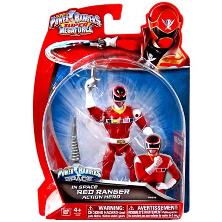 Power Rangers Super Megaforce In Space Red Ranger Action Hero (Power Rangers In Space A Ranger Among Thieves)