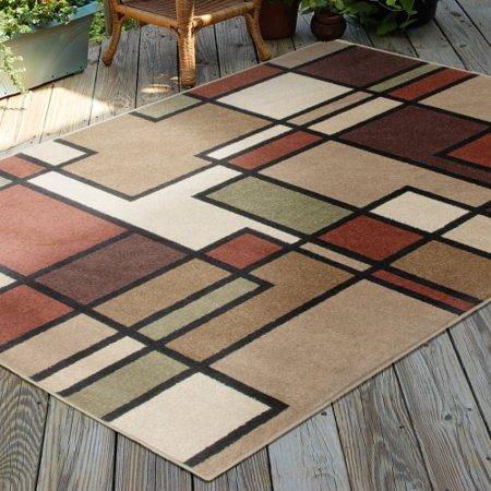 Orian Four Seasons Area Rugs 1820 Indoor Outdoor
