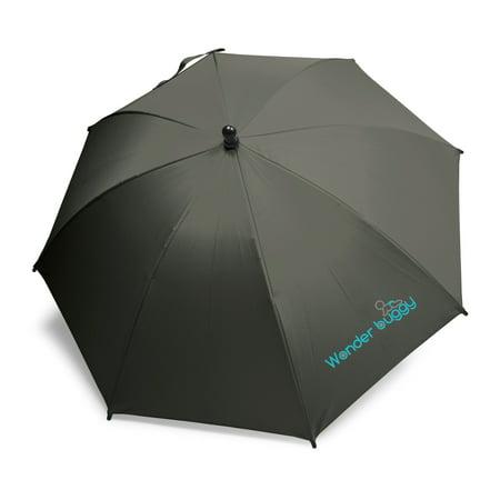 - Universal Uv Protective Stroller Parasol - Black