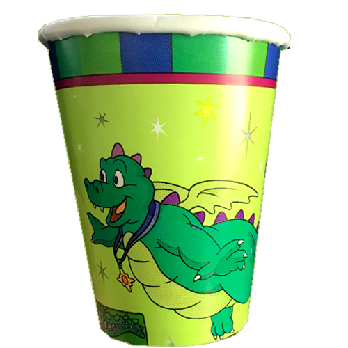 Dragon Tales Vintage 2000 9oz Paper Cups (8ct) by