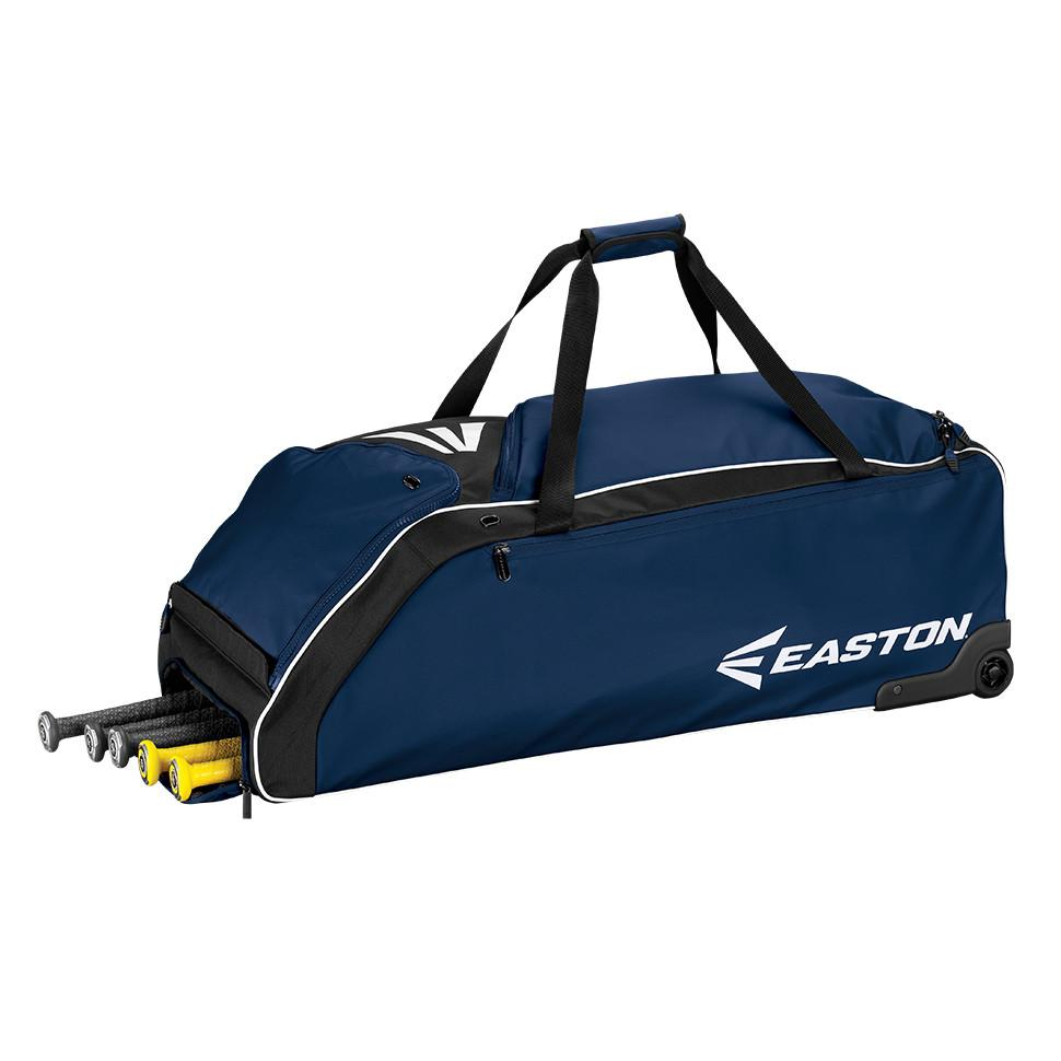 Easton E610W Wheeled Bag, Navy 36in x 14.5in x 12in