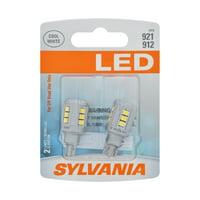 Sylvania 921 White LED Automotive Mini Bulbs, Pack of 2.