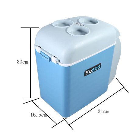 Yosoo 7.5L Portable Mini Car Fridge Freezer Cooler Warmer 12V Camping Travel Refrigerator,Electric Warmer Refrigerator ,Camping Refrigerator - image 5 of 6