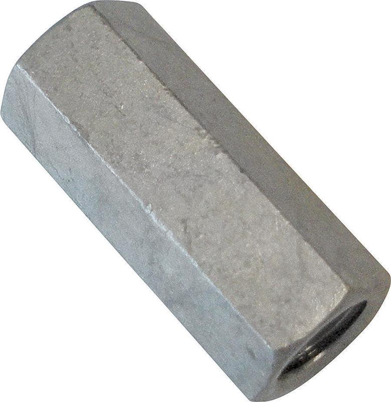 Porteous 00238-3200-404 Regular Coupling Nut, 3/4-10 x 2-1/4 in, Steel, Hot Dip Galvanized