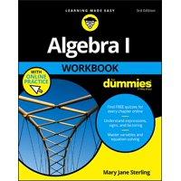 Algebra I Workbook for Dummies (Paperback)