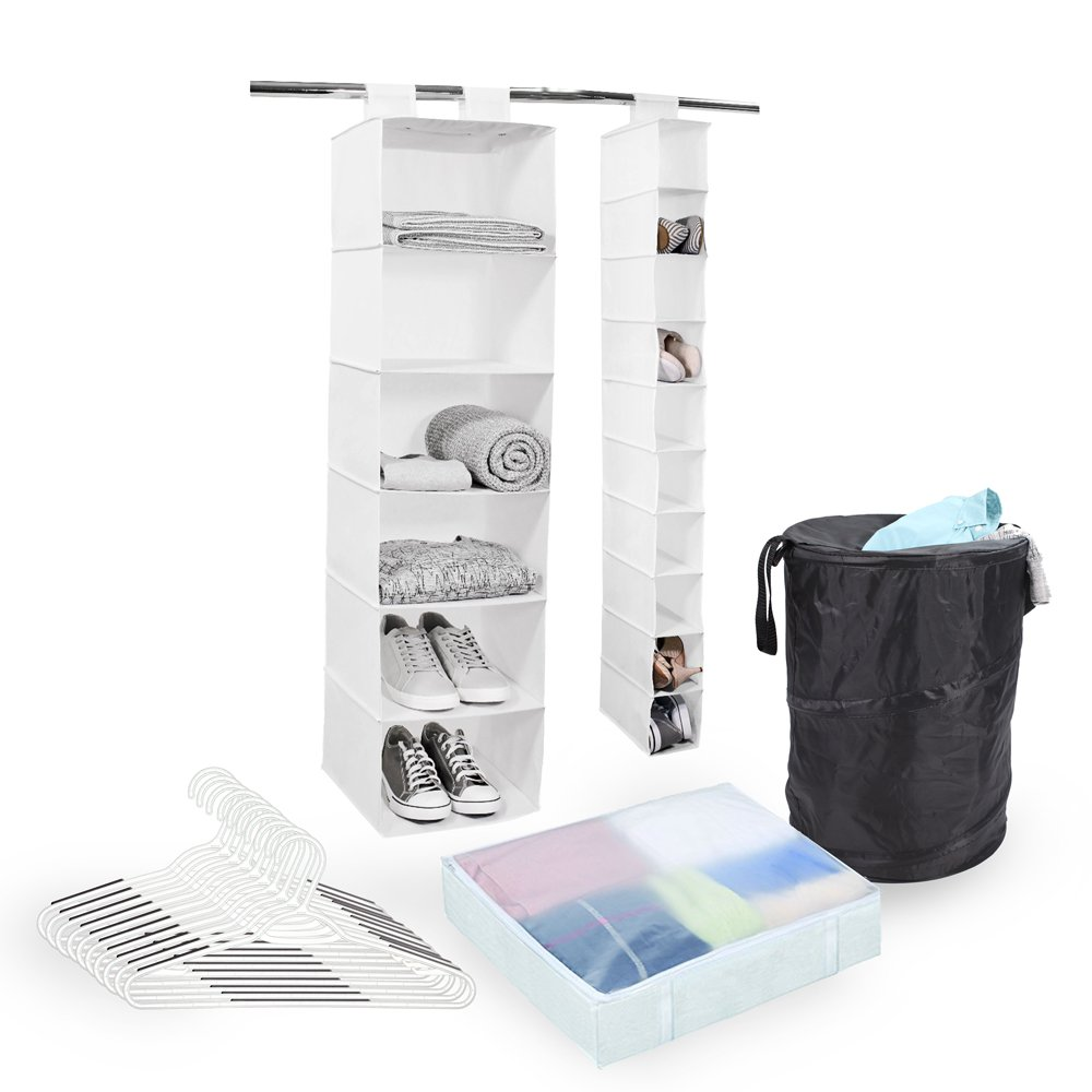 Tidy Living Organizer Bundle - White