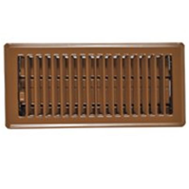 RG0234 Floor Register Brown 4 x 10 In.