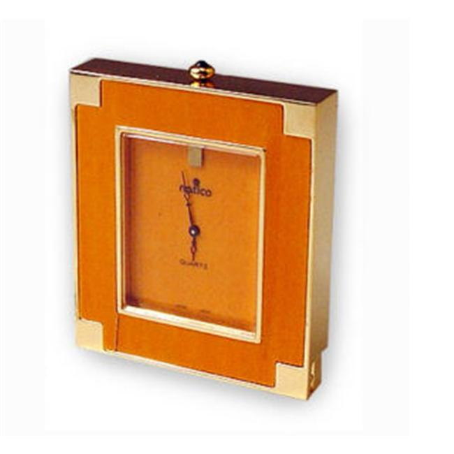 Natico Originals 10-DS231 Wood Desk Clock