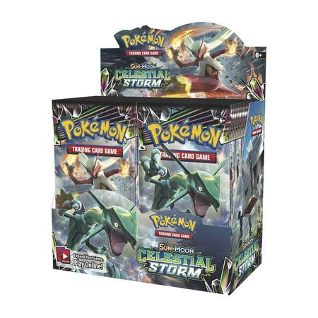 - Pokemon TCG: Celestial Storm Booster Box