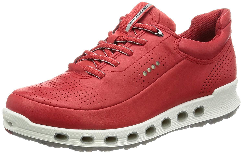 ECCO Women's Cool 2.0 Gore-Tex Fashion Sneaker, Tomato, 41 EU 10-10.5 M US by Ecco