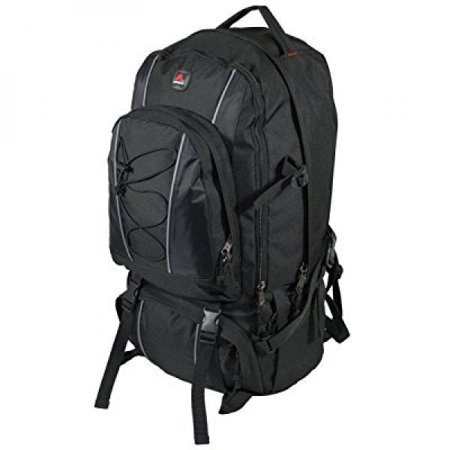 993fd6b4cd84 Amaro - 22004 sahara backpack jumbo oversize hiking travel daytrip backpack  (black) - Walmart.com