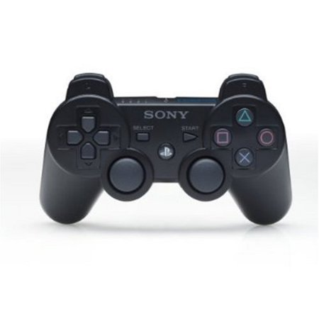 - Sony DualShock 3 Controller for PlayStation 3, Black, 99004