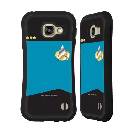 OFFICIAL STAR TREK UNIFORMS AND BADGES TNG HYBRID CASE FOR SAMSUNG PHONES (Star Trek Tng Uniforms)