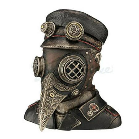 Steampunk Plague Doctor Antique - Bronze - Plague Doctor