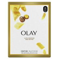 Olay Moisture Outlast Ultra Moisture Shea Butter Beauty Bar 3.75 oz, 8 count