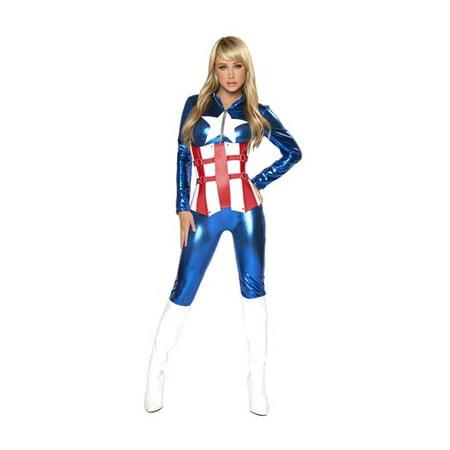Sexy American Hero Costume](Kick Ass Costume)