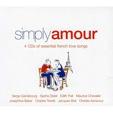 Simply Amour (French Love Songs) / Various (CD)](Easy French Halloween Songs)