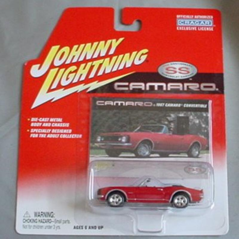 Johnny Lightning Camaro 35th Anniversary Series 1967 Cama...
