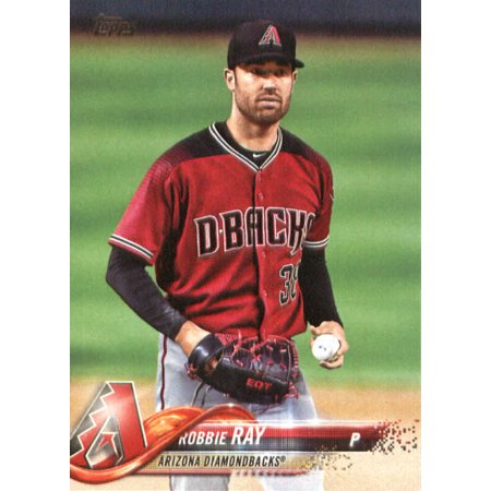2018 Topps #17 Robbie Ray Arizona Diamondbacks Baseball Card