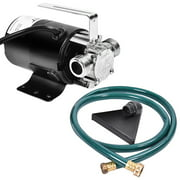 Electric Power Water Transfer Removal Pump 120V With Hose