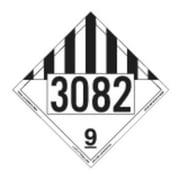 LABELMASTER 35ZL51 Misc Dangerous Goods Placard,10-3/4inH G2277339