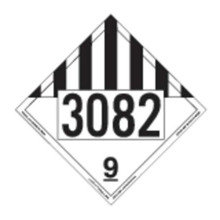 LABELMASTER 35ZL51 Misc Dangerous Goods Placard,10-3/4inH G2277339 for $<!---->