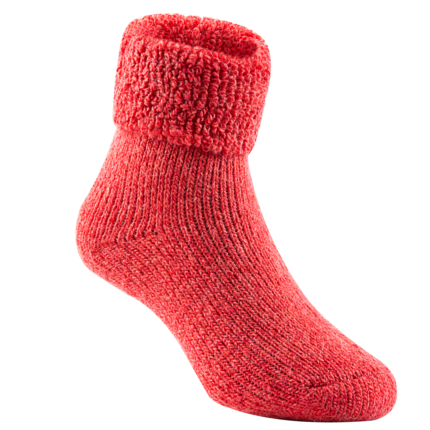 Lian LifeStyle Girls 3 Pairs Extra Thick Wool Boot Socks Crew Plain Color LK01 0Y-5Y
