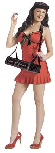 Womens Cocktail Waitress Halloween Costume - Walmart.com
